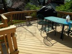 First Deck Built – Solid stain holds up after 8 years – Deck Resurrect