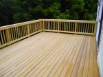 Custom deck with no nail or screw holes on the top – Columbia, MD by DeckResurrect