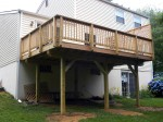 Custom deck built & completed by DeckResurrect – Columbia, MD
