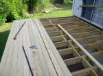 "Great Deck 2"" decking boards used for deck surface – By Deck Resurrect of Delmarva"