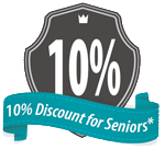 senior discounts for house power washing