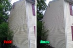 House Exterior Power Washing in Dover, DE by Deck Resurrect