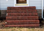 Brick steps completely cleaned of algae, moss & mildew – Mardela Springs, MD