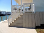 Millsboro, DE– 2 stain coats & 2 tone staining. Minimal stain waste by Deck Resurrect