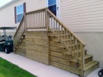 After power washing steps, on the Rehoboth Bay – DE