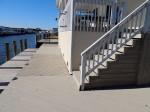 Millsboro, DE– 2 stain coats & 2 tone staining. Minimal stain waste – Deck Resurrect