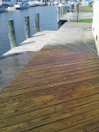 Deck is properly cleaned in a 3 step process that is environmentally safe – Millsboro, DE