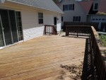 Old stain removed and ready for new stain – Stevensville (Kent Island), MD