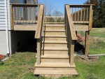 Deck & steps cleaned – Berlin, MD