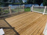 Deck stripped and ready for new stain, Oceanview, DE