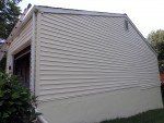 Siding cleaned and beautiful. Deck Resurrect
